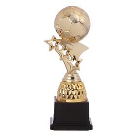 Кубок спортивный, золото, чёрная подставка, 17,5 х 6 х 6 см