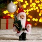 """Дед Мороз """"В красной шубке с зелёным мешком"""" 9*14 см"""