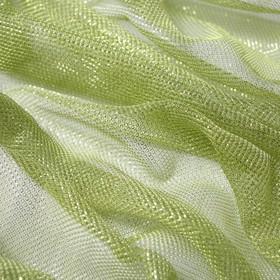 Трикотаж плательный, сетка мягкая, ширина 150 см, салатовый Ош