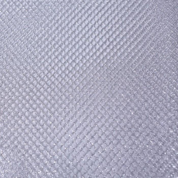 Трикотаж плательный, люрекс, ширина 140 см, серебро