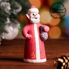 Сувенир «Дед Мороз», 4,5×4,5×10 см, каргопольская игрушка
