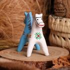 Сувенир «Лошадка Тяни-толкай», 4,5×4,5×10 см, каргопольская игрушка
