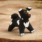 Сувенир «Собака», 3,5×4×5,5 см, каргопольская игрушка