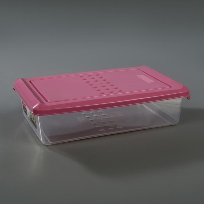 Ёмкость для хранения продуктов 750 мл Pattern, цвет пурпурный