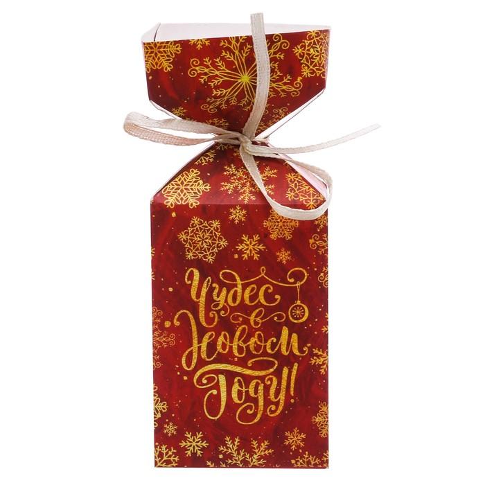 Складная коробка «Чудес в Новом году», 4.5 × 4.5 × 12 см