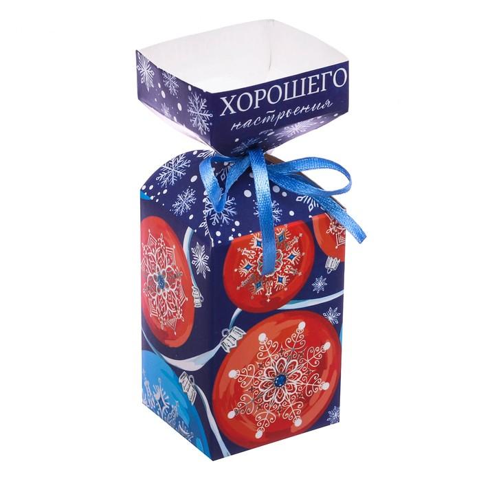 Складная коробка «Хорошего настроения», 4.5 × 4.5 × 12 см