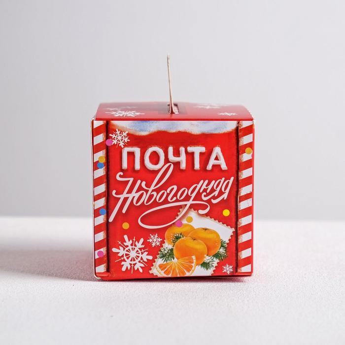 Складная коробка «Почта новогодняя», 6 × 6 × 6 см