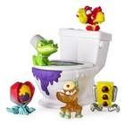 Коллекционные игрушки Flush Force, 5 шт+унитаз