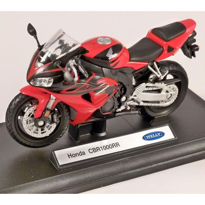 Коллекционная модель мотоцикла Honda CBR1000RR, масштаб 1:18