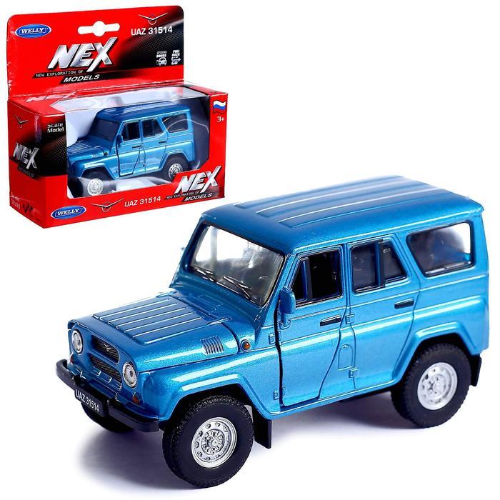 Коллекционная модель машины LADA 2108 УАЗ 31514, масштаб 1:34-39, МИКС