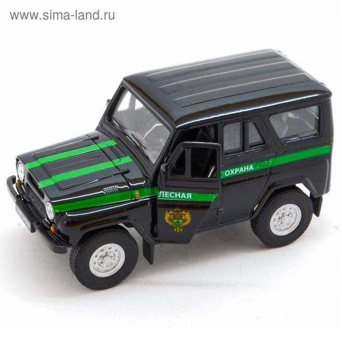 Коллекционная модель машины LADA 2108 УАЗ 31514 Лесная охрана, масштаб 1:34-39