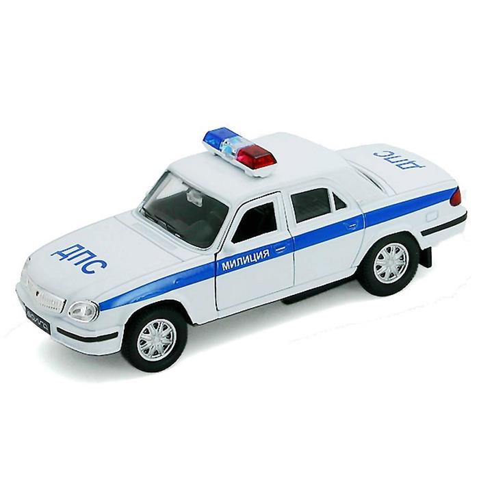 Коллекционная модель машины Волга «Милиция ДПС», масштаб 1:34-39