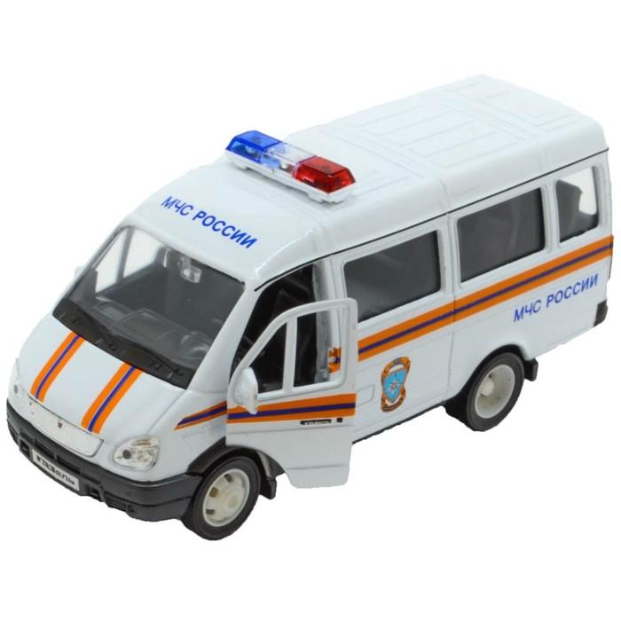 Коллекционная модель машины Газель «МЧС», масштаб 1:34-39