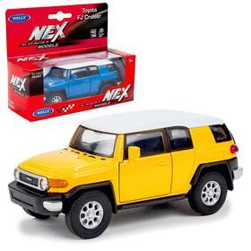 Коллекционная модель машины Toyota FJ Cruiser, масштаб 1:34-39, МИКС