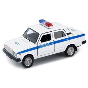 Коллекционная модель машины LADA 2107 Полиция, масштаб 1:34-39