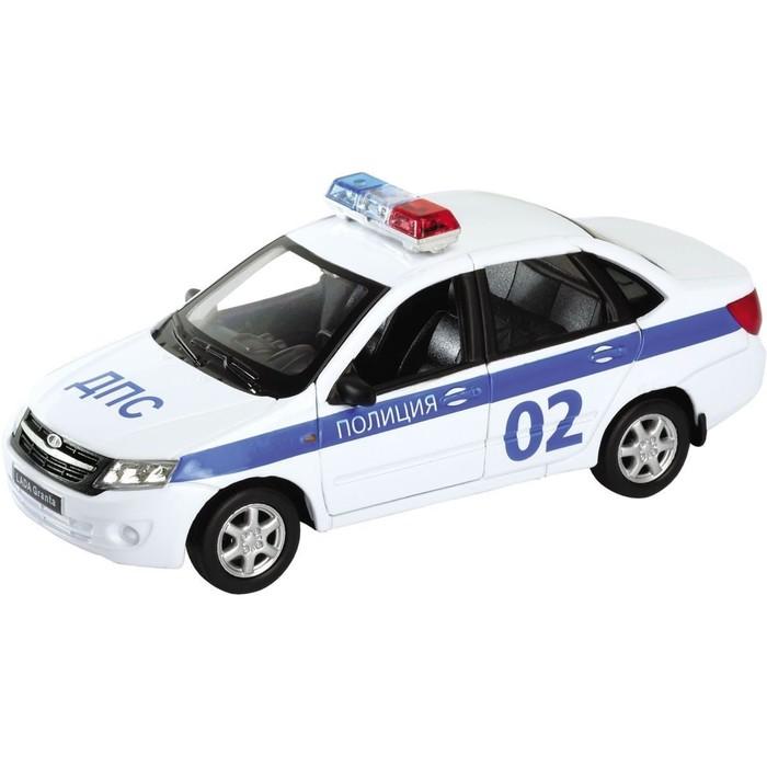 Коллекционная модель машины LADA Granta «Полиция», масштаб 1:34-39