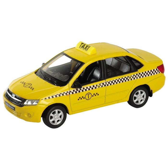 Коллекционная модель машины LADA Granta «Такси», масштаб 1:34-39