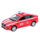 Коллекционная модель машины LADA Vesta Пожарная охрана, масштаб 1:34-39