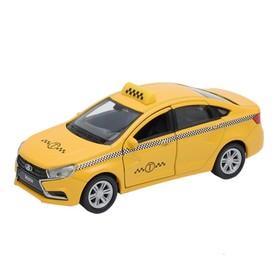 Коллекционная модель машины LADA Vesta «Такси», масштаб 1:34-39