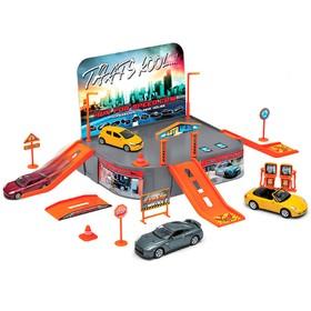 Игровой набор «Гараж», с одной машинкой Ош