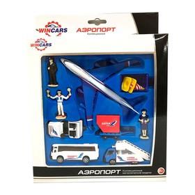Игровой набор «Аэропорт», машинки и аксессуары