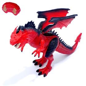 Динозавр радиоуправляемый «Дракон», эффект дыма, световые и звуковые эффекты