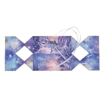 Складная коробка—конфета «Счастливого Нового года!», 11 × 5 × 5 см