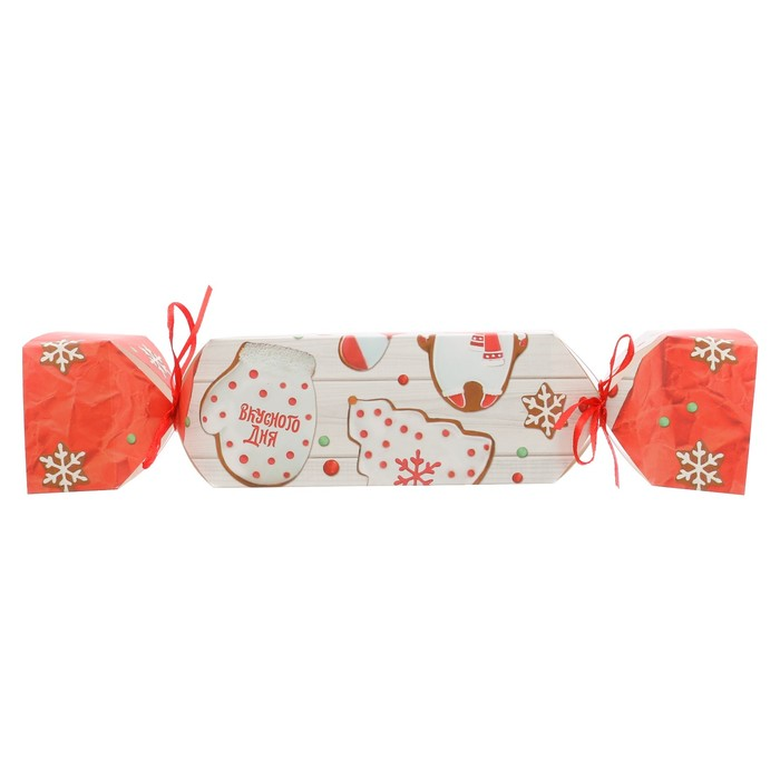 Складная коробка—конфета «Вкусного дня», 11 × 5 × 5 см