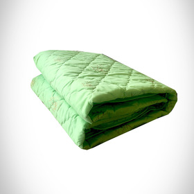 Одеяло Бамбук 140х205 см 150 гр, пэ, конверт