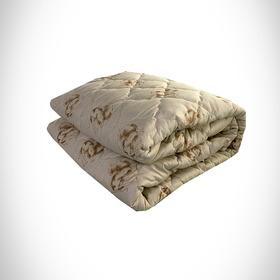 Одеяло Верблюжья шерсть 140х205 см 300 гр, политик, чемодан