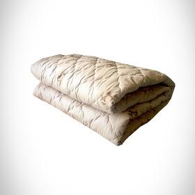 Одеяло Овечья шерсть 140х205 см 300 гр, политик, чемодан