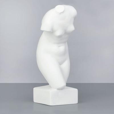 Гипсовая фигура. Торс Афродиты (Венеры), 18 х 18 х 42 см