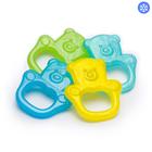 Прорезыватель охлаждающий гелевый «Мишка, BabyOno», цвет МИКС