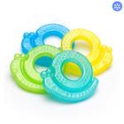 Прорезыватель гелевый для зубов «Улитка», цвета МИКС