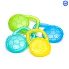 Прорезыватель гелевый для зубов «Мячик», цвета МИКС