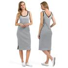 Платье для беременных Аврил цвет серый меланж, р-р 48