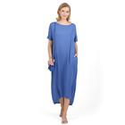 Платье для беременных Индиана цвет васильковый, р-р 48