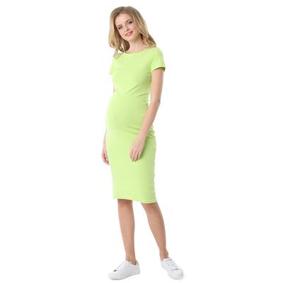 Платье для беременных Милена цвет яблочный, р-р 52