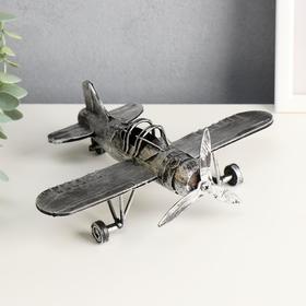 Souvenir metal airplane 22,5*16,5*8 cm