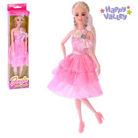 Кукла-модель «Эмили» шарнирная, в платье