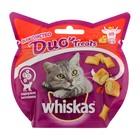Лакомство Whiskas Duo для кошек, говядина, сыр, 40 г