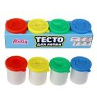 Тесто для лепки 4 цвета по 50 грамм 200 гр M1208/1
