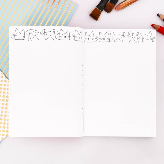 """Блокнот творческого человека """"Антиежедневник"""", мягкая обложка, 11,5 х 16,5 см, 120 листов - фото 373631913"""