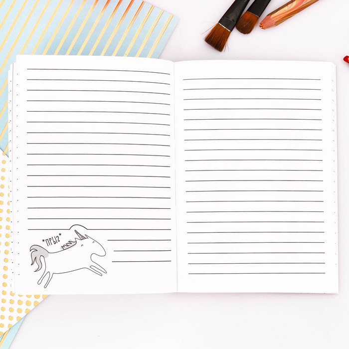 """Блокнот творческого человека """"Антиежедневник"""", мягкая обложка, 11,5 х 16,5 см, 120 листов - фото 373631917"""