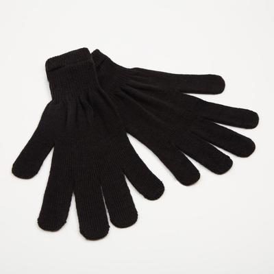 Women's gloves, color black, size 18