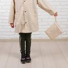 Дождевик детский «Нежный горошек«, размер M - фото 105568340