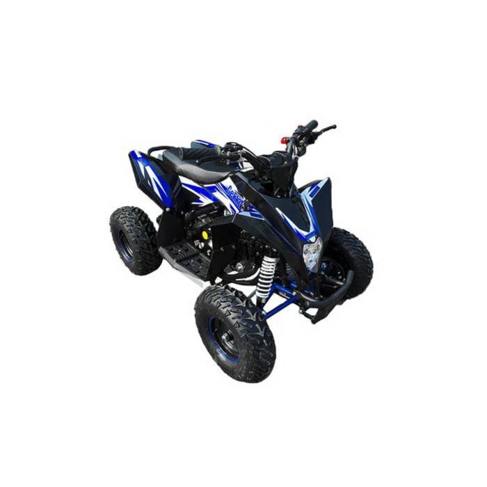 Детский электро квадроцикл MOTAX GEKKON 1300W, черно-синий