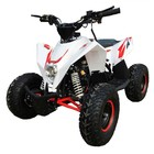 Детский электро квадроцикл MOTAX GEKKON 1300W, бело-красный