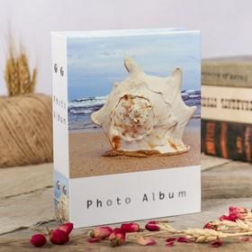 "Фотоальбом на 100 фото 10х15 см ""Пляж"" МИКС"