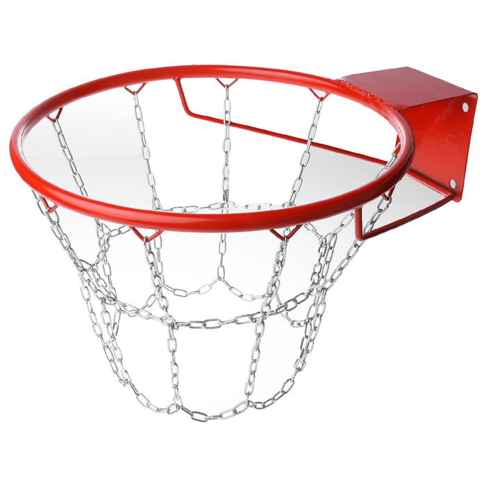 Корзина баскетбольная №7, d 450 мм, стандартная с цепью